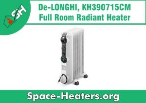 DeLonghi space heater reviews