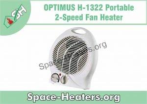 Optimus 2 Speed Fan Heater 2019 Review