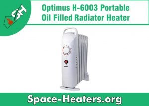 room heater with thermostat