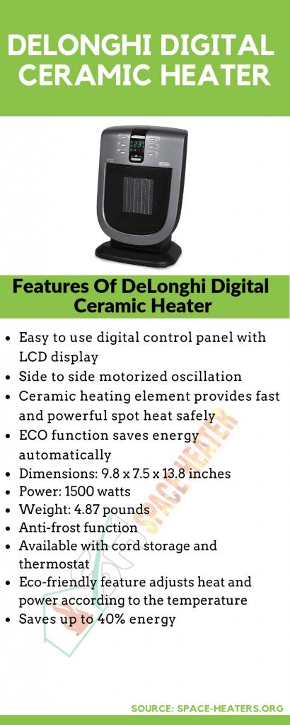 Best Digital Ceramic Heater for home use