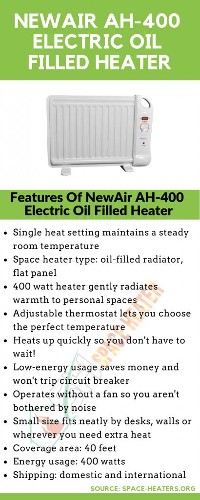 NewAir portable space heater