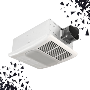 Exhaust Fan with Light and Heater